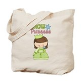 Snow Princess Tote Bag