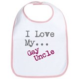 Cute Uncle Bib