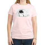 Pekingese in Profile Women's Pink T-Shirt