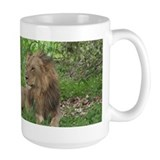 Mug with Pretty Male Lion