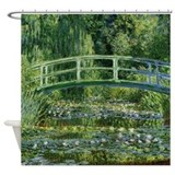Monet Japanese Bridge Shower Curtain