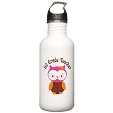 1st Grade Teacher Gift Water Bottle