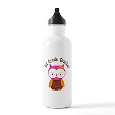1st Grade Teacher Gift Water Bottle