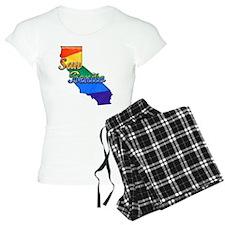 San Benito, California. Gay Pride Pajamas