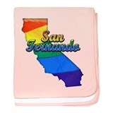 San Fernando, California. Gay Pride baby blanket