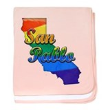 San Pablo, California. Gay Pride baby blanket