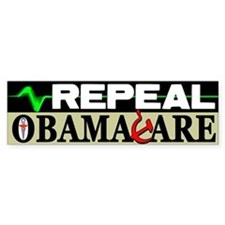 """Repeal Obamacare!"" Bumper Sticker"