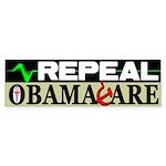 """""""Repeal Obamacare!"""" Sticker (Bumpe"""