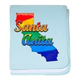 Santa Anita, California. Gay Pride baby blanket
