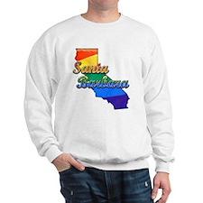 Santa Barbara, California. Gay Pride Sweatshirt