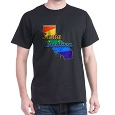 Santa Barbara, California. Gay Pride T-Shirt