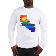 Santa Barbara, California. Gay Pride Long Sleeve T