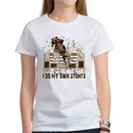 Hunter, Jumper Horse Stunts Women's T-Shirt