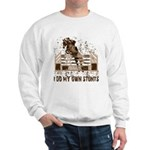 Hunter, Jumper Horse Stunts Sweatshirt