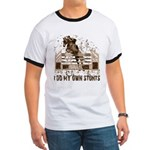 Hunter, Jumper Horse Stunts Ringer T