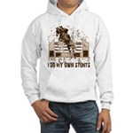 Hunter, Jumper Horse Stunts Hooded Sweatshirt
