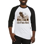 Hunter, Jumper Horse Stunts Baseball Jersey