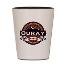 Ouray Vibrant Shot Glass