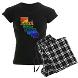 South Yuba, California. Gay Pride Pajamas