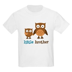 Little Brother - Mod Owl Kids Light T-Shirt