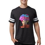 Wickham is Mine Organic Men's Fitted T-Shirt (dark