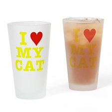 Unique Lolcat Drinking Glass