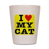 Funny Catpoo Shot Glass