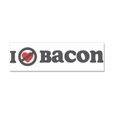 Don't Heart Bacon Car Magnet 10 x 3
