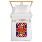 Queen of diamonds Jubilee 2012 Twin Duvet