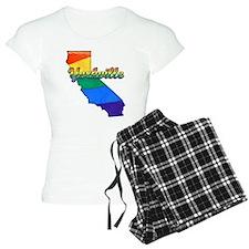 Yorkville, California. Gay Pride Pajamas