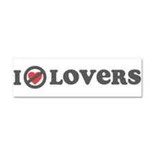 Don't Heart Lovers Car Magnet 10 x 3