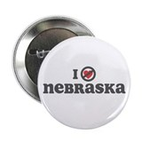 "Don't Heart Nebraska 2.25"" Button"
