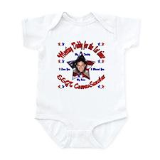 Krystal's Custom Homecoming Infant Bodysuit