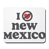 Don't Heart New Mexico Mousepad