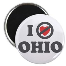 Don't Heart Ohio Magnet
