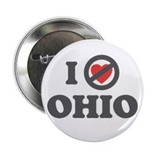 "Don't Heart Ohio 2.25"" Button"