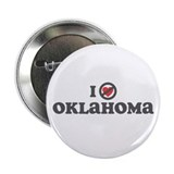 "Don't Heart Oklahoma 2.25"" Button"