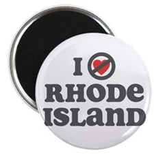 "Don't Heart Rhode Island 2.25"" Magnet (10 pack)"