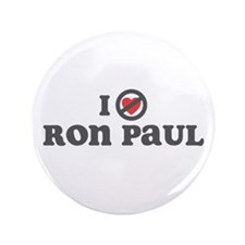 "Don't Heart Ron Paul 3.5"" Button (100 pack)"