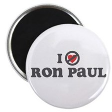 "Don't Heart Ron Paul 2.25"" Magnet (100 pack)"