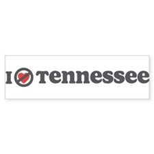 Don't Heart Tennessee Bumper Sticker