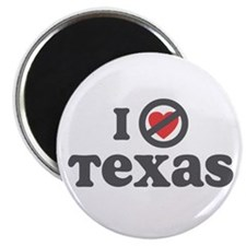 Don't Heart Texas Magnet