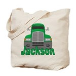Trucker Jackson Tote Bag