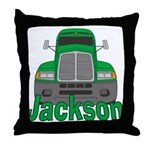 Trucker Jackson Throw Pillow