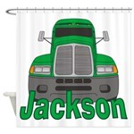 Trucker Jackson Shower Curtain