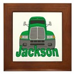 Trucker Jackson Framed Tile
