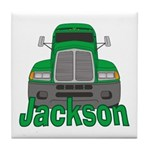 Trucker Jackson Tile Coaster