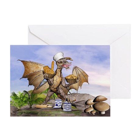 Mother's Day Dragon Greeting Card