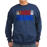 Dogs for Obama Sweatshirt