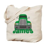 Trucker James Tote Bag